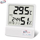 電子數顯溫濕度計家用溫度計溫濕度計工業溫濕度儀表高精度【   伊衫風尚】