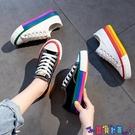 帆布鞋 帆布鞋女鞋子2021春秋新款百搭板鞋布鞋2021年春季潮鞋 618狂歡