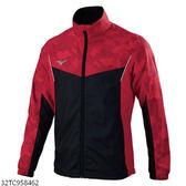 MIZUNO 男裝 外套 風衣 套裝 平織 防潑水 口袋拉鍊 網布 紅 迷彩【運動世界】32TC958462