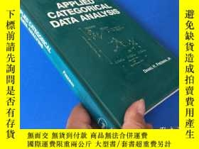 二手書博民逛書店APPLIED罕見CATEGORICAL DATA ANALYS