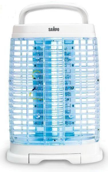 可壁掛、桌立兩用【聲寶】15W奈米銀捕蚊燈 ML-DF15S《刷卡分期+免運費》