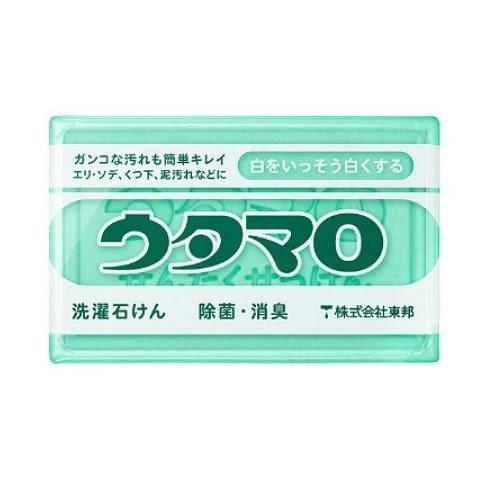 [霜兔小舖]日本 Utamaro 魔法家事皂 歌磨洗滌皂 頑垢去污除菌皂 洗衣皂 衣領皂