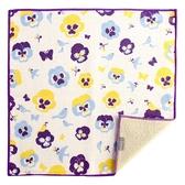 【日本製】【+ima】今治毛巾 Imabari Towel 禮品組  手帕 三色堇和鳥(一組:10個) SD-2135-10 - 日本製