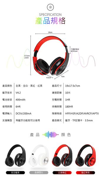 耳罩式電競耳機 重低音藍芽耳機 藍牙耳機 可插記憶卡