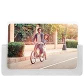 工業風清水泥相框擺6六7寸亞克力照片像框兒童實木相架情侶禮物