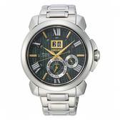【分期0利率】SEIKO 精工錶 Premier 萬年曆 43mm 動能錶 7D56-0AF0G SNP155J1