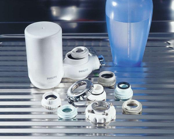 《加配原廠濾芯x1顆+贈纖維布》Philips WP3812 飛利浦 五重過濾 水龍頭式 淨水器 (日本原裝)