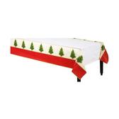聖誕 餐具 紙桌巾-經典聖誕樹