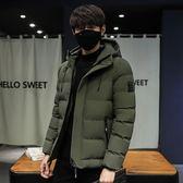 棉衣男冬季2018新款面包服韓版短款青少年潮加厚學生修身帥氣外套【韓意舍】