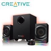 【CREATIVE 創巨】Sound BlasterX Kratos S5 RGB 2.1聲道電競喇叭