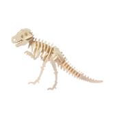 DIY材料包-3D恐龍彩繪拼圖-霸王龍