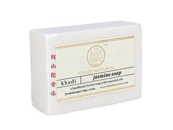 岡山戀香水~印度 Khadi 草本茉莉手工精油香皂125g~優惠價:65元