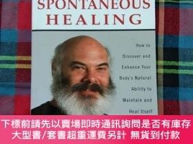 二手書博民逛書店Spontaneous罕見Healing: How to Discover and Enhance Your Bo