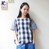 American Bluedeer-大小格紋上衣(魅力價)春夏新款