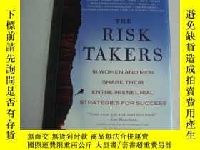 二手書博民逛書店The罕見Risk Takers: 16 Women and M