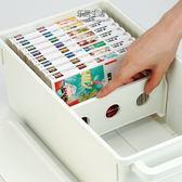 INOMATA創意光碟收納盒視窗CD置放箱DVD光碟整理盒碟片盒WD  電購3C