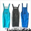 皮革防水圍裙防油 廚房反穿罩衣PU家用成人工作男女