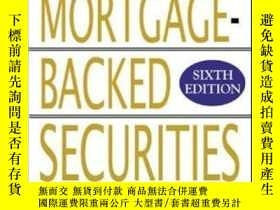 二手書博民逛書店The罕見Handbook Of Mortgage-backed