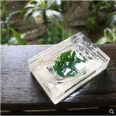 肥皂架 環保材質肥皂盒創意肥皂架瀝水香皂盒綠葉 綠光森林