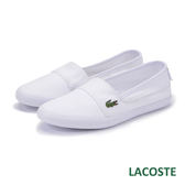 LACOSTE 女用休閒鞋/懶人鞋-白色 921