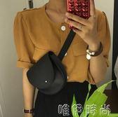 腰包 新款皮腰包韓版復古潮包女式腰包休閒 皮時尚迷你斜跨小腰包 唯伊時尚