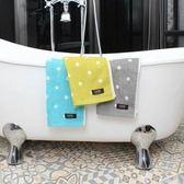 Lovel 專利咖啡紗除臭抗UV圓點毛巾3件組灰X3