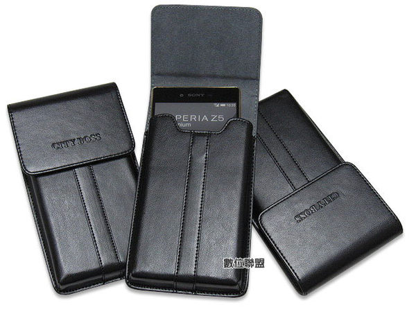 CITY BOSS 直立式 手機腰掛皮套 SONY Xperia XA1 Plus /XZ1 /XZ Premium /XA1 Ultra /XA Ultra 腰掛式皮套 BWE7