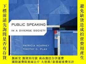 二手書博民逛書店Public罕見Speaking In Diverse SocietyY307751 Patricia Kea