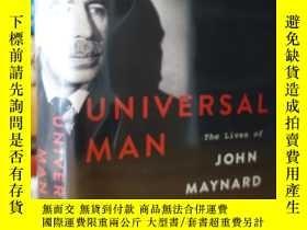 二手書博民逛書店凱恩斯傳記罕見Universal Man: The Lives of John Maynard KeynesY