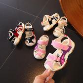 兒童鞋子 兒童涼鞋男童沙灘鞋女孩機能鞋男孩休閒鞋運動鞋跑步鞋 歐萊爾藝術館