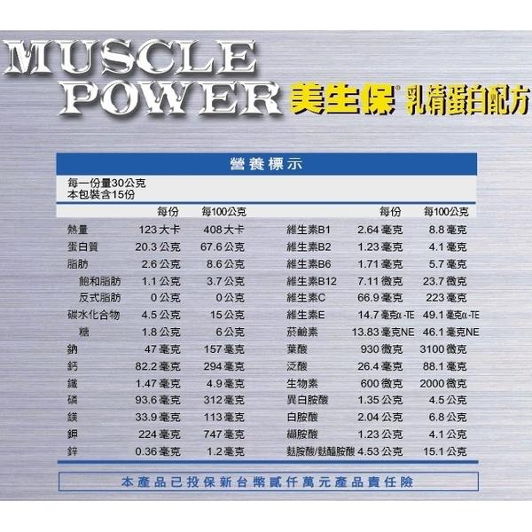 三多 美生保乳清蛋白(450G/盒)【醫妝世家】 健身 乳清蛋白