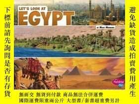 二手書博民逛書店Let s罕見Look at EgyptY346464 Mary