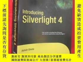 二手書博民逛書店Introducing罕見Silverlight 4 (16開)