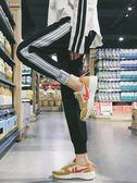 新年大促 束腳運動褲女學生韓版寬鬆秋女生帥氣褲子女夏2018新款顯瘦休閒褲