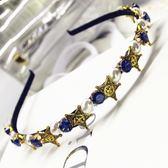 鑲鑽髮圈(任兩件)-閃閃動人星星造型女髮箍3款73gi53[時尚巴黎]
