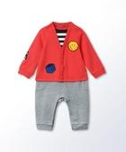 Hallmark Babies 快樂上學去男嬰衛衣料長袖連身衣 HG3-R01-19-BB-PR