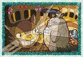 【拼圖總動員 PUZZLE STORY】貓巴士到達 日本進口拼圖/Ensky/龍貓/300P/透明塑膠