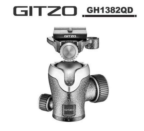 24期零利率 GITZO GH1382QD 1號鋁合金中心球型雲台