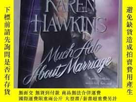 二手書博民逛書店英文原版罕見Much Ado About Marriage by