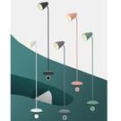 簡約北歐風客廳臺燈臥室ins風現代立式創意床頭麥木木落 【母親節禮物】