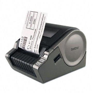 【免運】brother QL-1050 大尺寸電腦標籤列印機 - 原廠公司貨