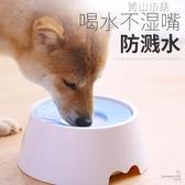 狗狗喝水器防濺水不濕嘴飲水器水盆喝水碗狗碗狗盆泰迪寵物用品 青山市集