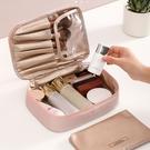 化妝箱 網紅化妝包小號便攜韓國簡約洗漱包收納盒大容量女化妝袋【快速出貨八折特惠】