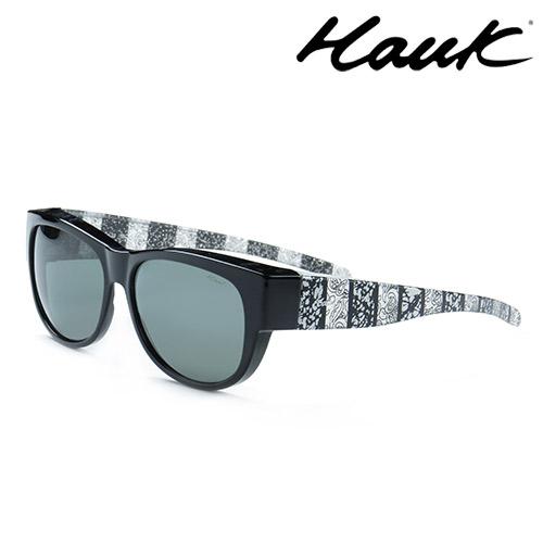 HAWK偏光太陽套鏡(眼鏡族專用)HK1006-22