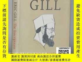 二手書博民逛書店【罕見】Eric Gill:The Inscriptions 《