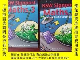 二手書博民逛書店NSW罕見Signpost Maths 3 澳大利亞小學數學教材 教輔 3年級Y122963 A.Parker