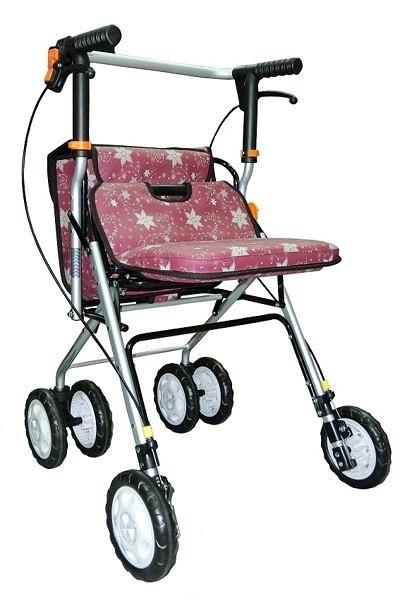 鋁製散步車(購物車/健步車)FZK717