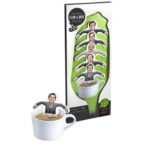 【收藏天地】熱賣文創*台灣請泡茶系列(5入單包裝)-兩岸論茶包