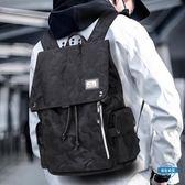 新年85折購 電腦包正韓迷你背包休閒後背包男時尚帆布男包旅行包潮流學生書包電腦包