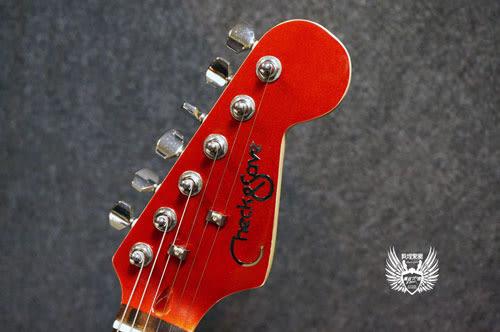 【敦煌樂器】CHECKSAVE HS001 酒紅色款 電吉他